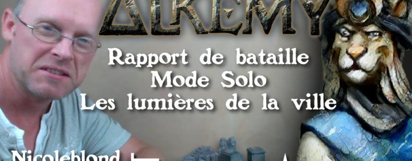 Vidéo – rapport de bataille – mode solo – les lumières de la ville