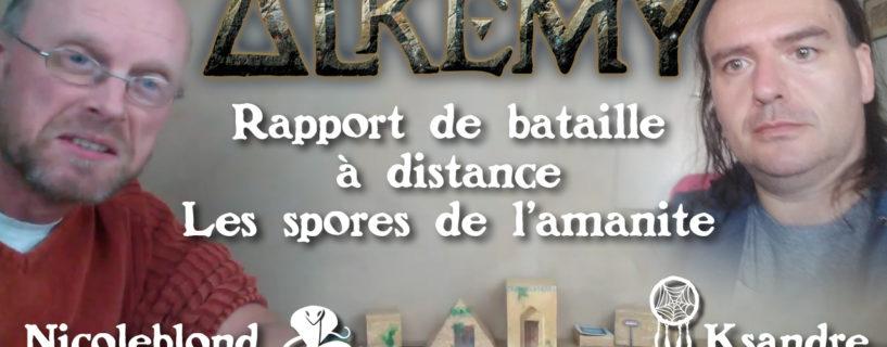 Vidéo – rapport de bataille à distance – les spores