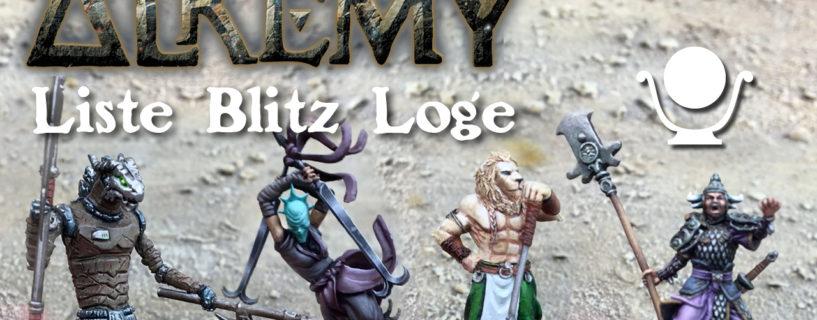 Vidéo – liste blitz Loge