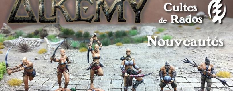 Vidéo 6 nouvelles figurines Cultes de Rados