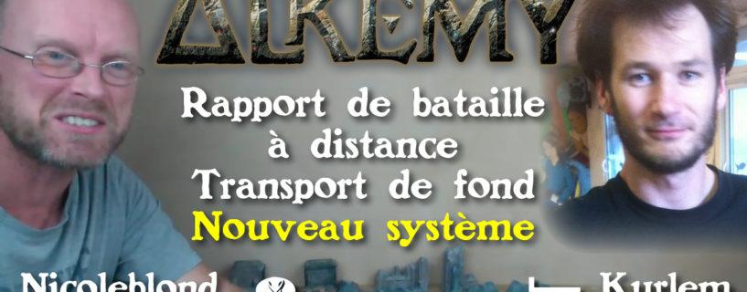 Vidéo – rapport de bataille nouveau système – mode à distance – transport de fonds
