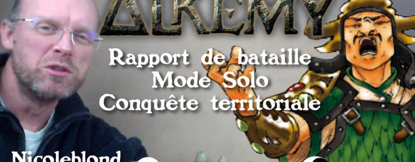 Vidéo – Rapport de bataille mode solo – conquête territoriale