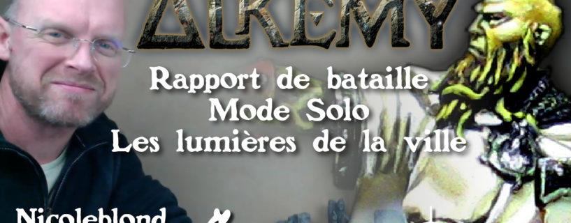 Vidéo – rapport de bataille mode solo – Cultes de Rados contre Temple