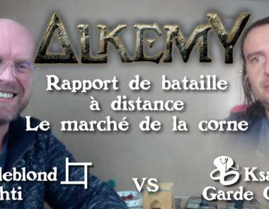 vidéo – rapport de bataille à distance – le marché de la corne