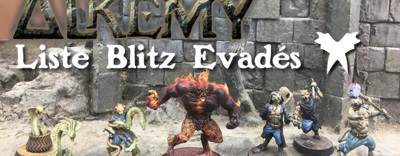 Vidéo – liste blitz Evadés avec l'ifrit pyrithin