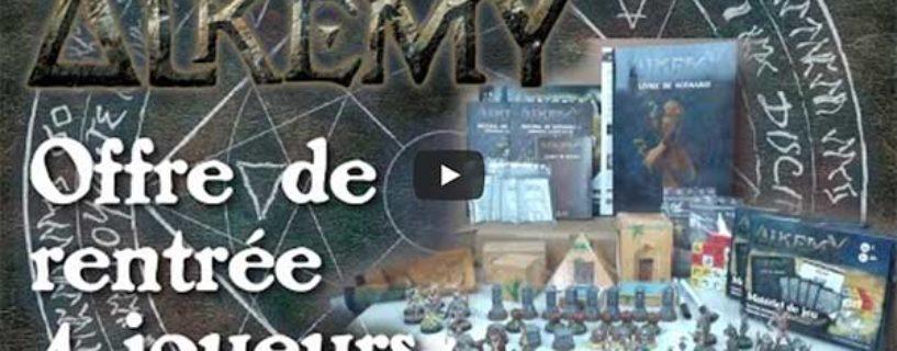 Vidéo – l'offre de rentrée pour 4 joueurs